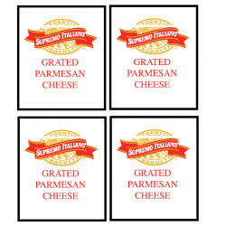 NEW Parmesan Cheese...